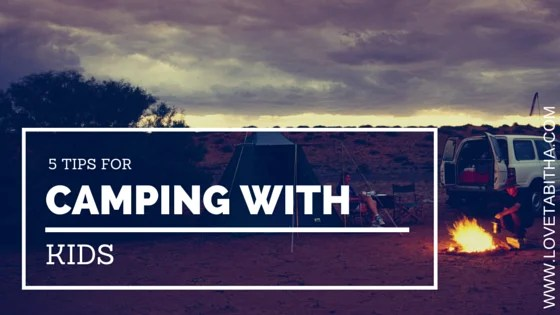 Millersylvania State Park - 5 tips for camping with kids