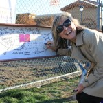 Santa Clara Northside Library Beam Signing Event
