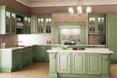 112863 beautiful sage green kitchen
