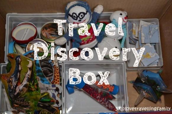 DIY toys: Travel Discovery Box