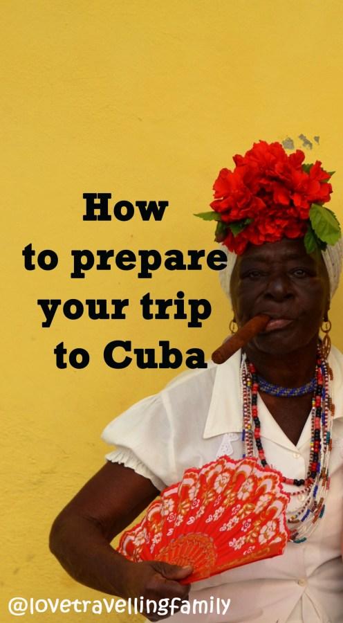 Woman with a cigar, Cuba