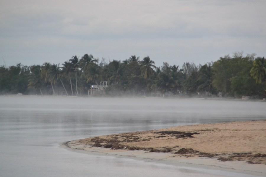 Fog, Playa Larga, Cuba