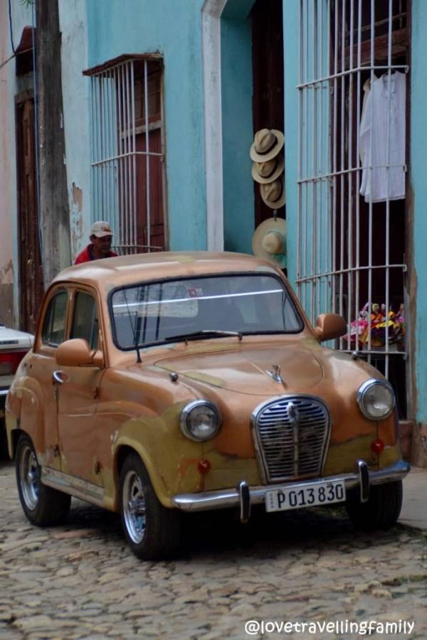 Old car, Trinidad, Cuba