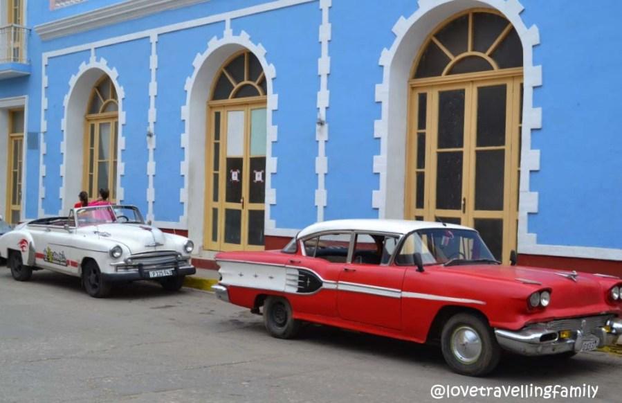 Oldtimers in Trinidad, Cuba