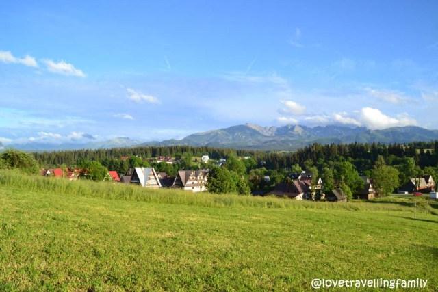 The Tatra Mountains, Poronin