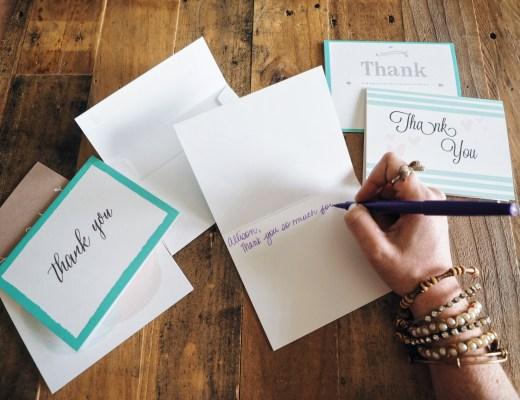 love you more too north dallas blogger plano lifestyle blogger Thank you note etiquette Basic Invite