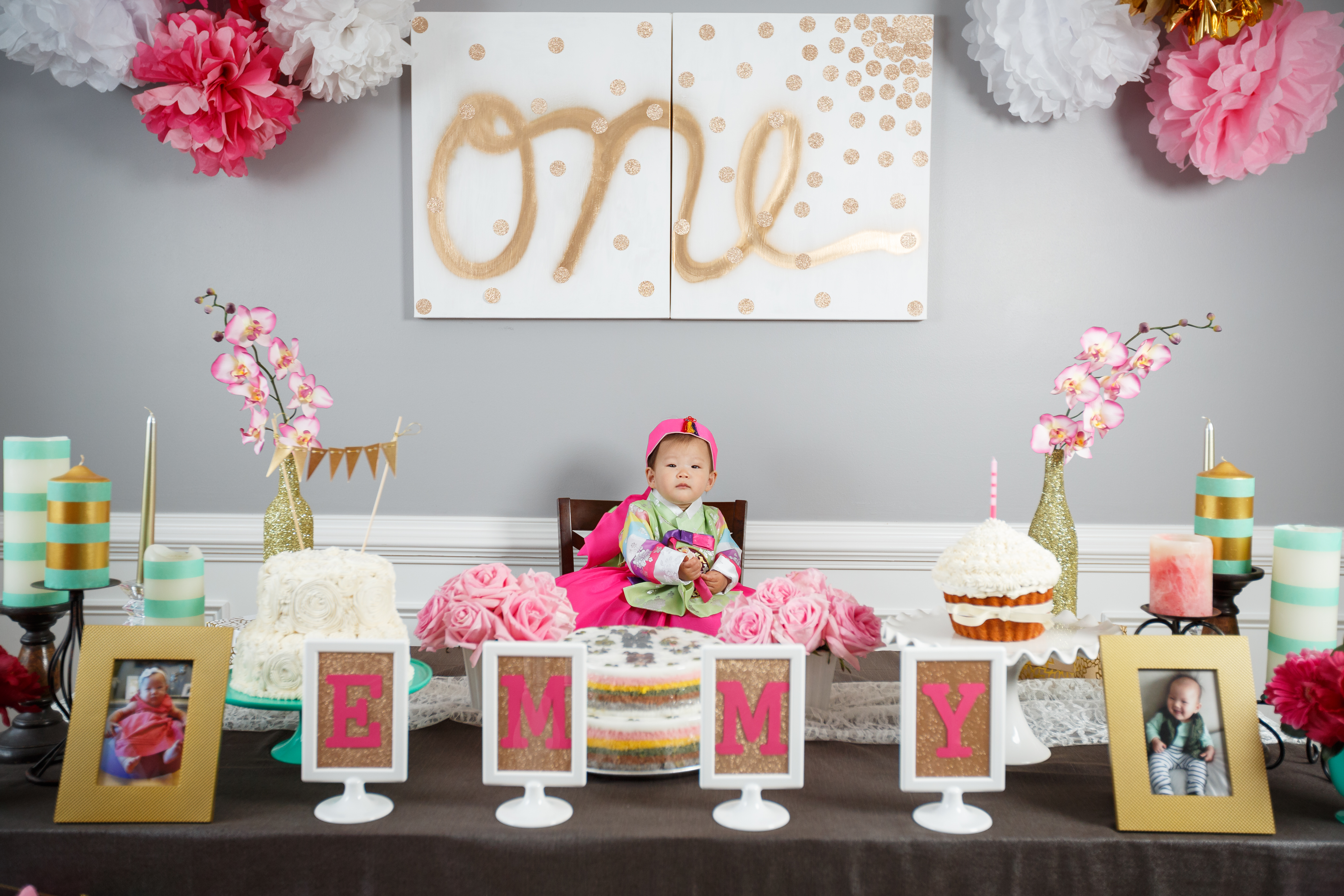 Emmy S Dohl Korean 1st Birthday Party Love Your Abode