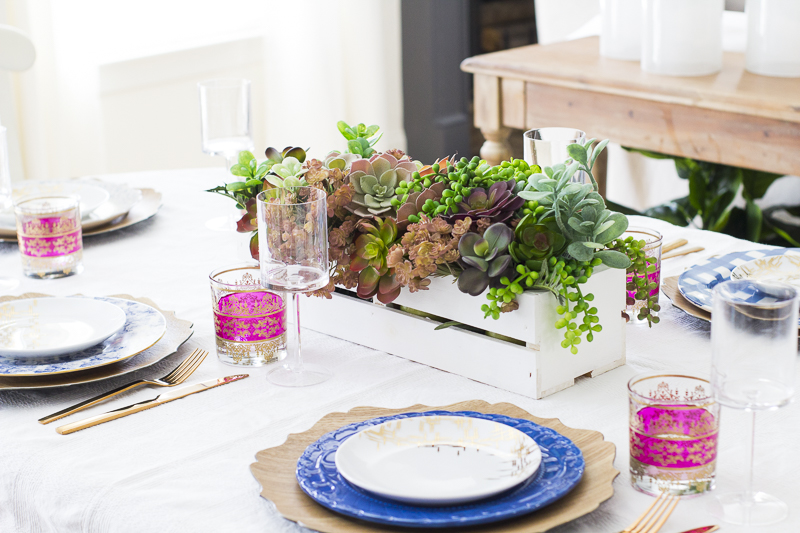succulent-valentines-tablescape| loveyourabode |