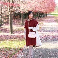 Trench Coat and Over The Knee Boots
