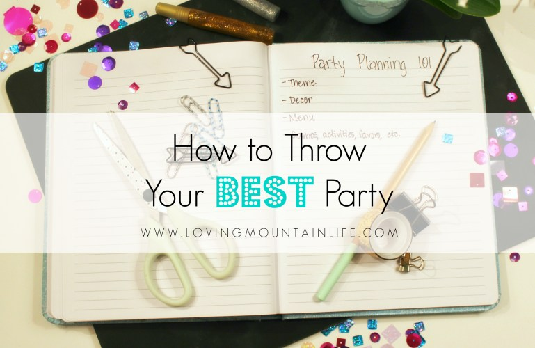 How to Throw Your Best Party: Theme