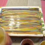 swirling soap