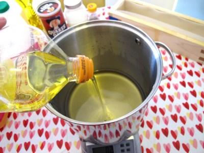 melted oils