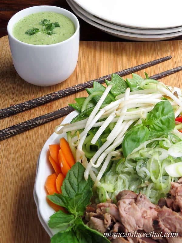 Thai Beef Salad Noodle Bowl | Low Carb Maven