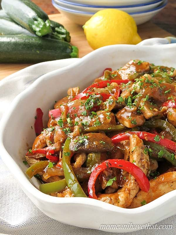 Chicken Sherry Recipe — Dishmaps