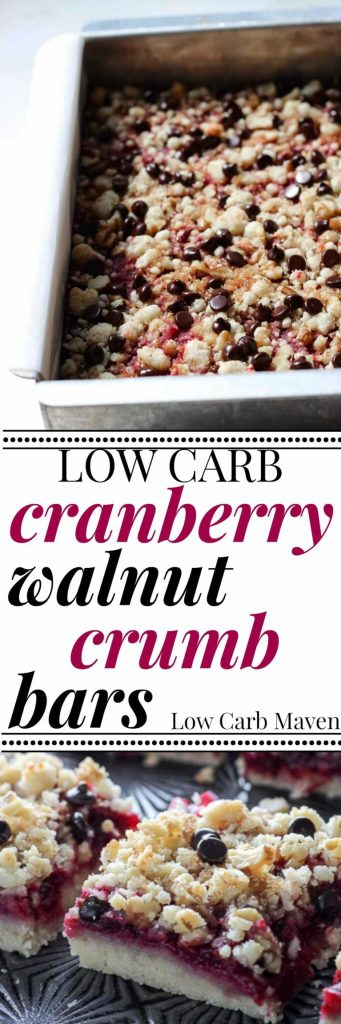 Tart cranberries, almond-coconut shortbread crust, toasted walnuts and ...
