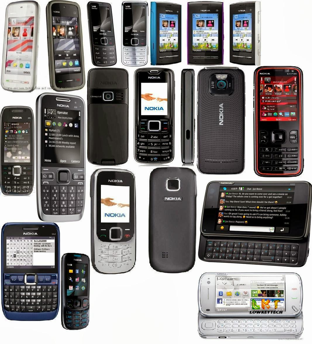 list of the phone