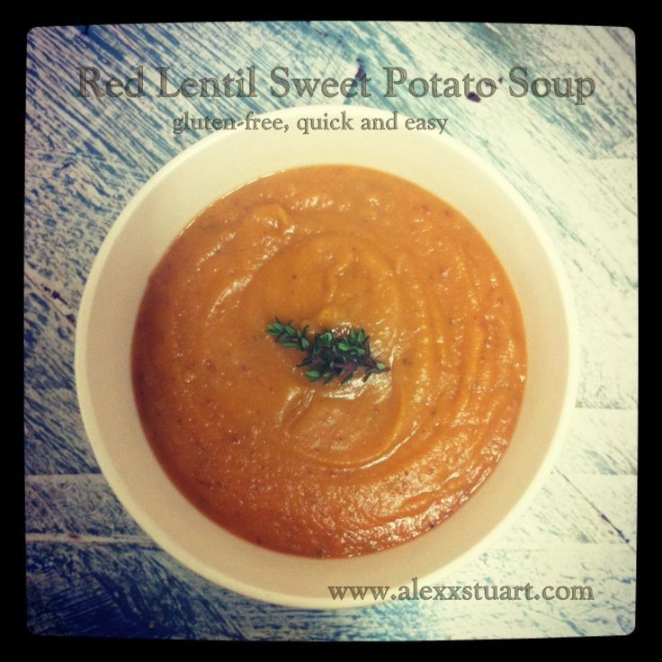 Red bean and sweet potato soup