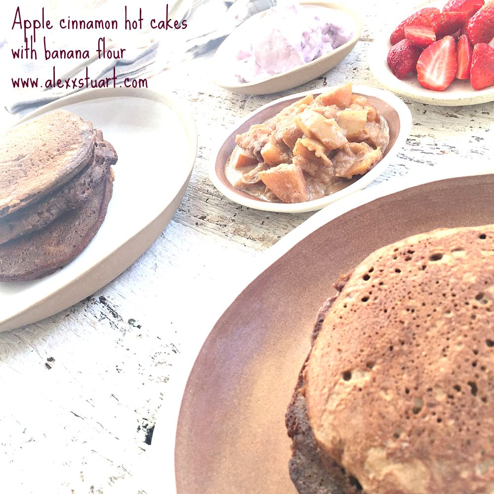 Apple cinnamon hotcakes Pinterest