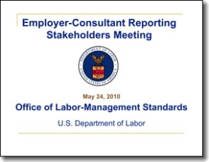 AdviceRulemakingStakeholderMeeting 300x233 Breaking: DOL Persuader Rules PowerPoint Available