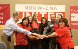 Early CNA NUHW affiliation 2012 300x190 NUHW and CNA Align Against SEIU