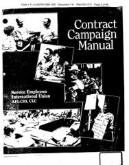 seiu campaign manual 235x300 SEIU Watch: Campaign Manual Promotes Breaking the Law
