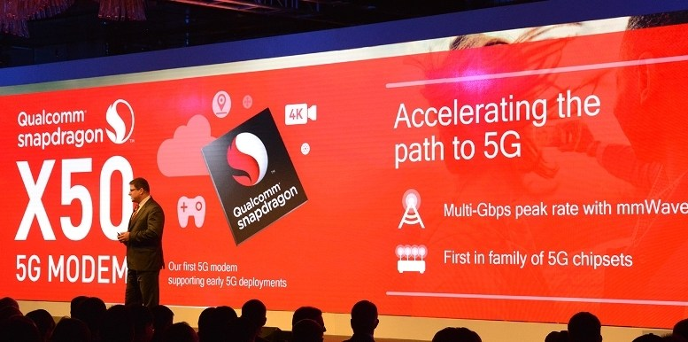 Qualcomm Snapdragon X50 5G Modem to support early 5G deployments and field trials