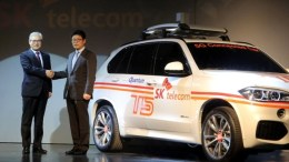 SK Telecom-BMW 5G Connected Car
