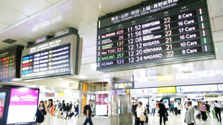 Tokyo-station-world's busiest-station