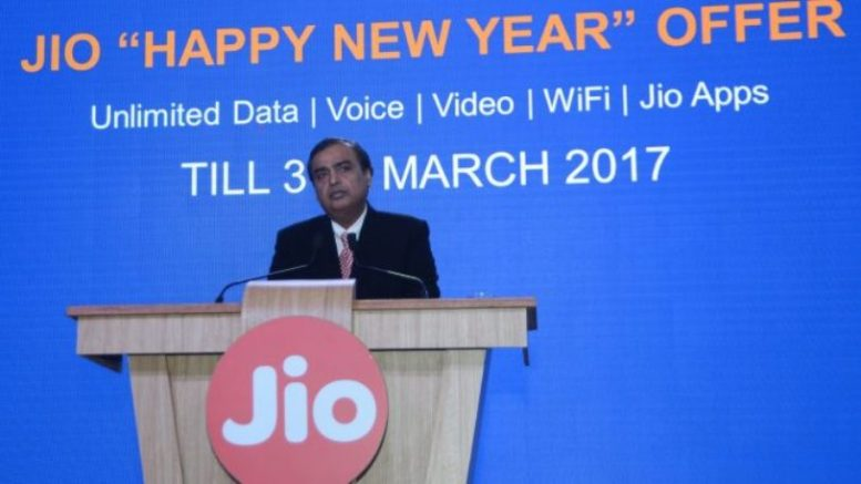 Reliance Jio starts 'Happy New Year', offering free 4G data