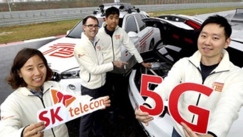 SK Telecom, Ericsson, BMW successfully tests 5G network for connected vehicles