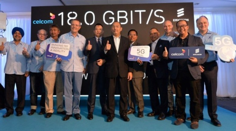 Celcom, Ericsson Conducts The First 5G Network Trial in Malaysia