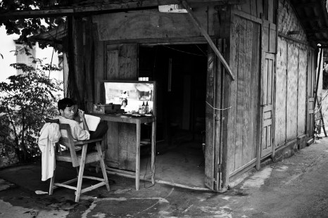 On the road to Sapa. Vietnam. 2007