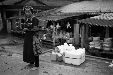 On the road to Sapa. Vietnam. 2007