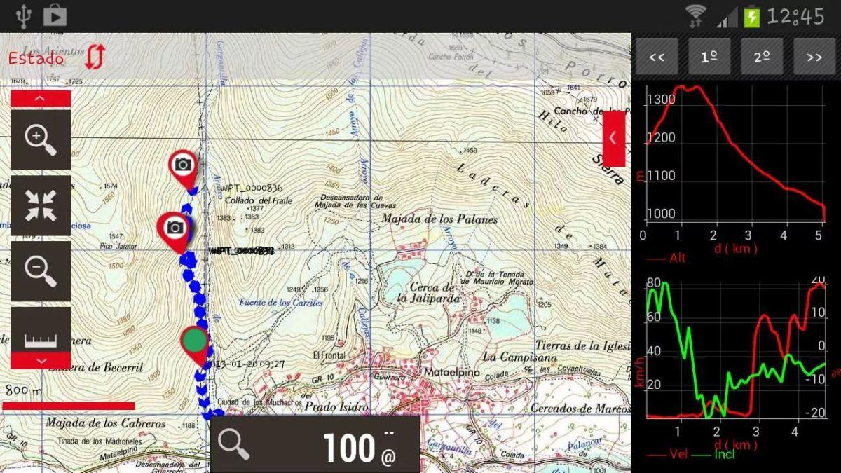 """""""Navigatore per bici"""", utilizzando il cellulare (OruxMaps)"""