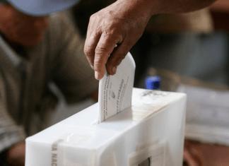 simulacro de votacion