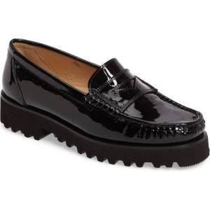 Ron White Penny Loafers in Patent Leather
