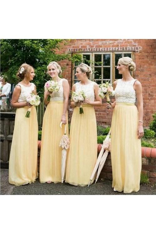 Medium Of Yellow Bridesmaid Dresses