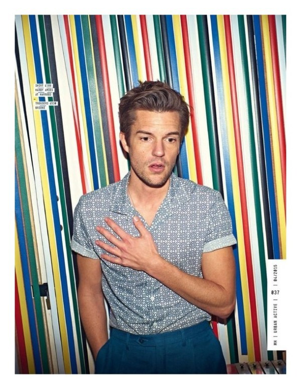 "BRANDON FLOWERS ""Men's Health"""