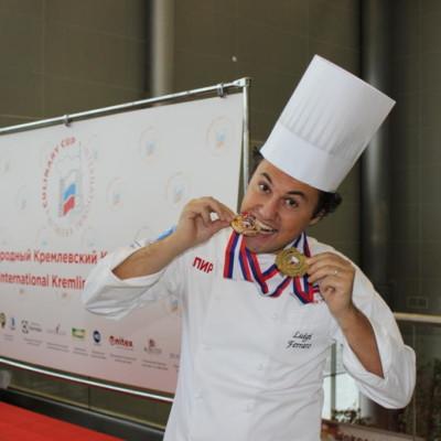 17 Medaglia d'oro - International Kremlin Culinaru Cup - Moscow 2013