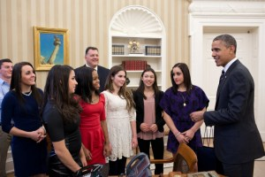 Golden Gymnasts « The Obama Diary