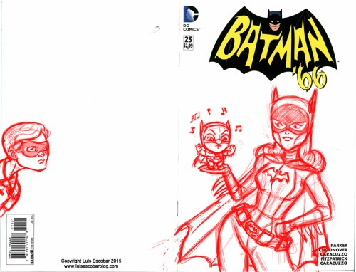 Batman 66 cover w