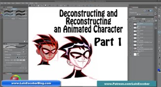 Deconstructing and Reconstructing an Animated Character