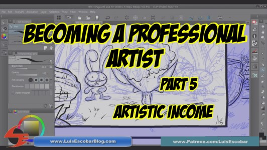 Becoming a Professiona Artist Part 05 Financial Income