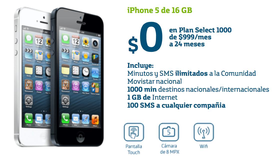 Precios del iphone 5 en telcel movistar y iusacell luisgyg