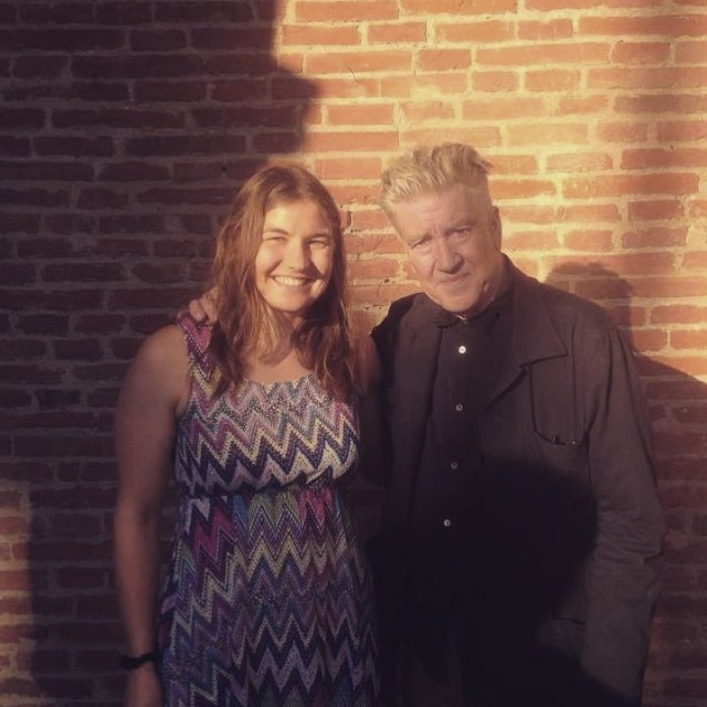 Today my girlfriend got to met David Lynch I wasnthellip