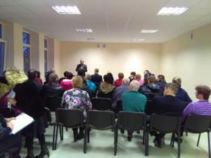 2017-ųjų ataskaitinis Lukonių bendruomenės susirinkimas
