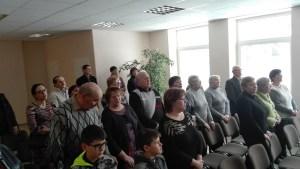 Paminėti Lietuvos valstybės atkūrimo 100-metį susirinko gausus burys Lukoniečių