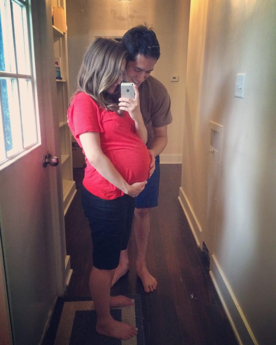 (I'm Still Pregnant...) Bump Date: 40 Weeks!