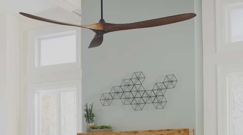 Large Of What Size Ceiling Fan