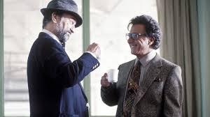 Dustin Hoffman e Robert De Niro in Wag the dog - sesso e potere